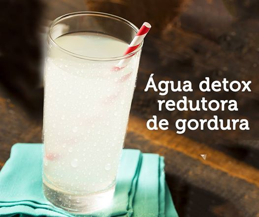 Água Detox Redutora de Gordura!
